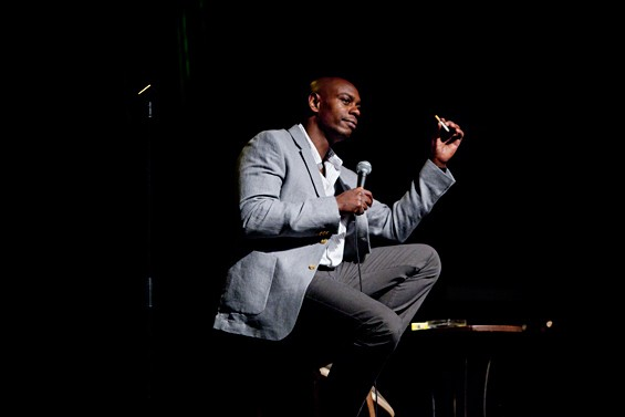 Dave Chappelle - © 2012 RYAN HOLMES, SIXTEENTH & BROADWAY