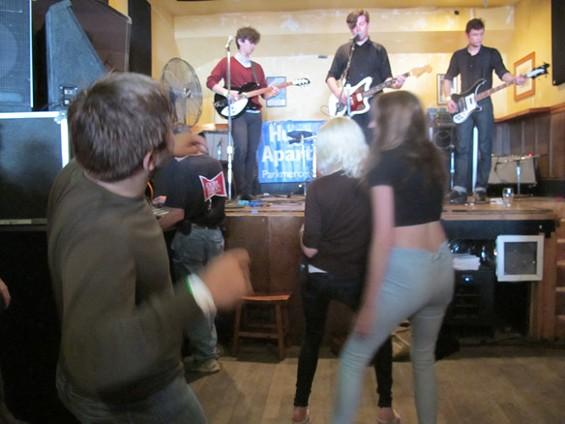 Dave dancing