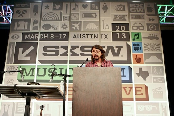 Dave Grohl at SXSW - CHRISTOPHER VICTORIO