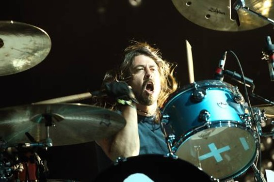 Dave Grohl of Them Crooked Vultures - CHRISTOPHER VICTORIO