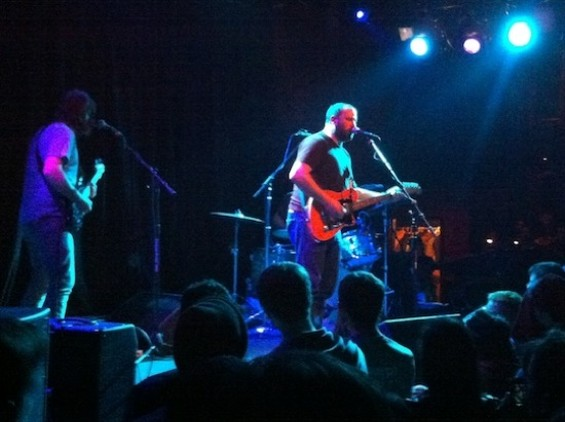 David Bazan at the Independent last night.