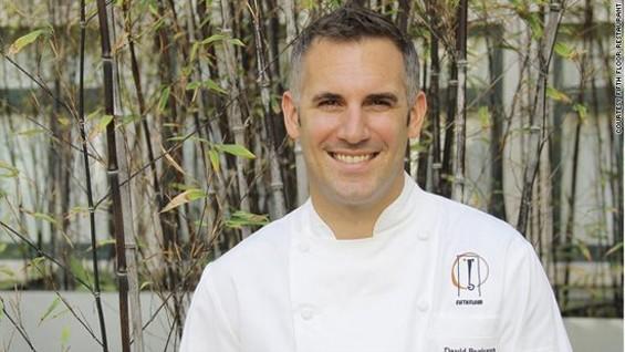 David Bazirgan, chef of Fifth Floor. - FIFTH FLOOR