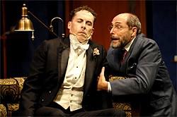 KEVIN BERNE - David Chandler and Matt Gottlieb in Berkeley Rep's latest production of Heartbreak House.