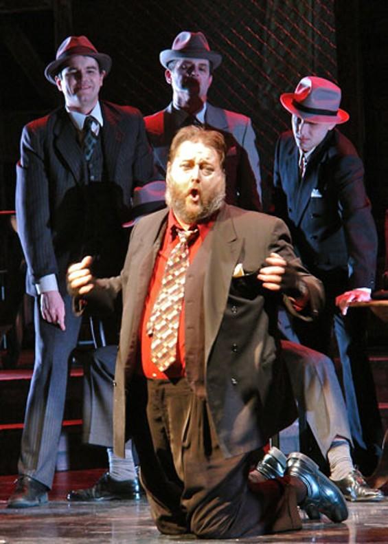 David Cox as Rigoletto