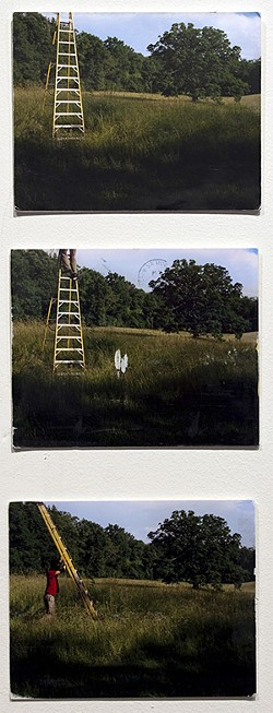 """David Horvitz creates a postcard from the edge, titled """"How to Escape a Photograph."""""""