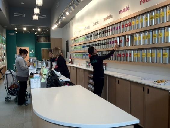 DAVIDsTEA's first Bay Area location is on Polk Street. - TAMARA PALMER