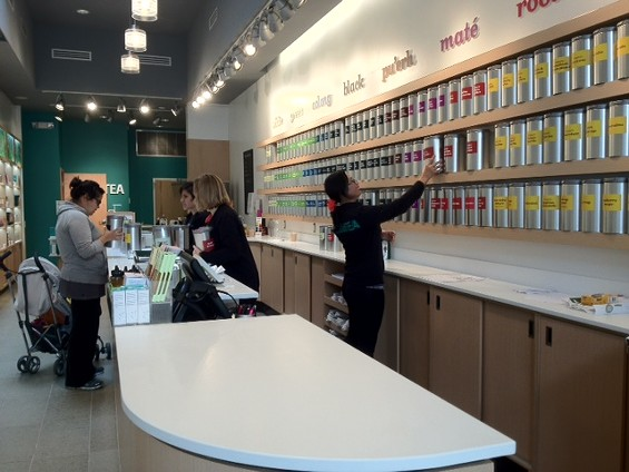 DAVIDsTEA's first Bay Area location is on Polk Street. - TAMARA PALMER