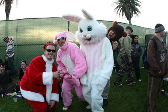 Day two had perfect weather for furry costumes. - CHRISTOPHER VICTORIO