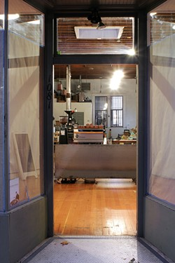 SHARK SENESAC - De La Paz Roasters' new cafe.