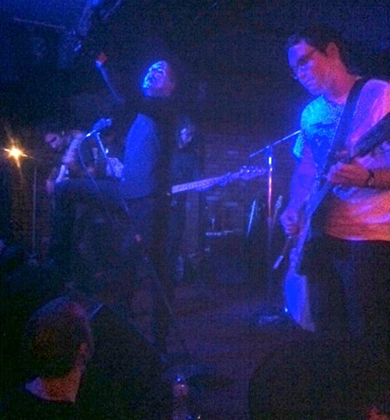Deafheaven at Bottom of the Hill last night.