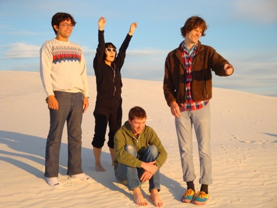 Deerhoof wants to party. We highly recommend you join them.