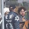 Warren Hellman's Hebrew Jacket Explained