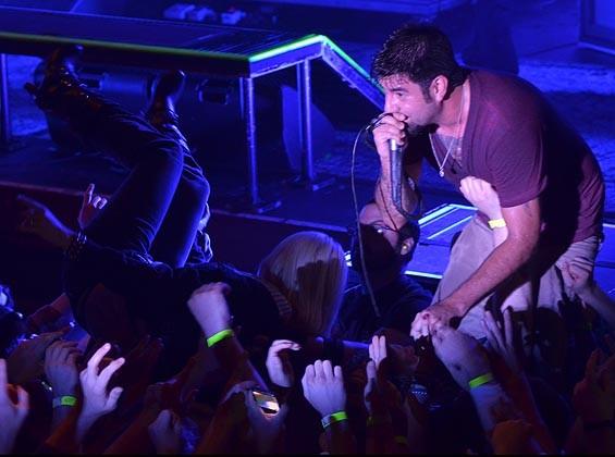 Deftones performing in Minneapolis - NICK WOSIKA/CITYPAGES