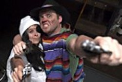 JEFF  FOHL - Dena Martinez and Danny Wolohan as the - anti-heroes.