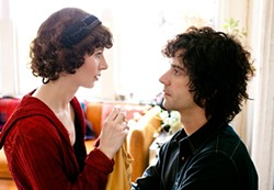 Depressed, marginally droll, and eminently swattable: Sophie (Miranda July) and Jason (Hamish Linklater).