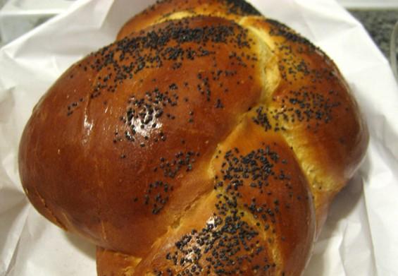 Destination Bakery's Challah, $4. - JONATHAN KAUFFMAN