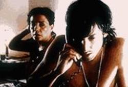 Dial M for Misery: Jos (Juan Cruz Bordeu) receives a call as Mercedes (Silvia Boyle) watches.