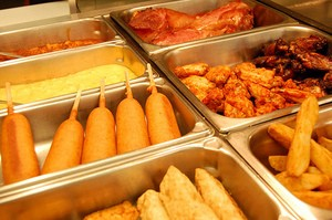 Did we mention there were corndogs? - DELANO'S IGA