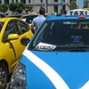 Taxi Drivers Protest at City Hall