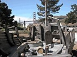 Dig up clues in a shipwreck at the Bay Area - Discovery Museum.