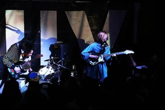 DIIV at Brick and Mortar Music Hall on Saturday night. All photos courtesy of Amelia Sechman. - AMELIA SECHMAN