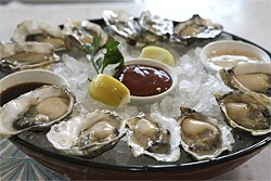 JAMIE SOJA - Dip your bivalve in some lusty cocktail sauce and slurp.