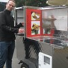 New King of Currywurst Cart: Now with Chilean Veg Dogs