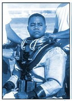 PHILIP V. CARUSO - Diver Down: Cuba Gooding Jr. making it safe to go back in  the water.