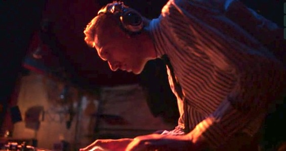 DJ Danny White at Indie Slash