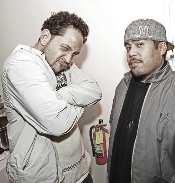 DJ, DeeJay: Sake One and Willie Maize - EKAPHOTOGRAPHY