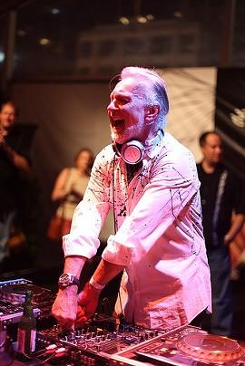 DJ Hubert Keller laying down the mise en place. - DEWEK12/FLICKR