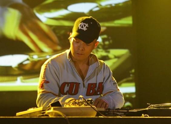 DJ Qbert in concert