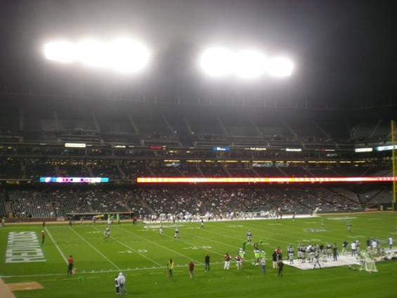 Does this stadium look even one-seventh full? Sadly, it does not. - JIM HERD