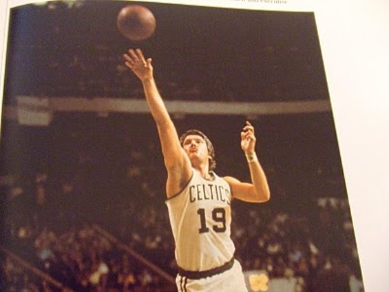Don Nelson during his playing days