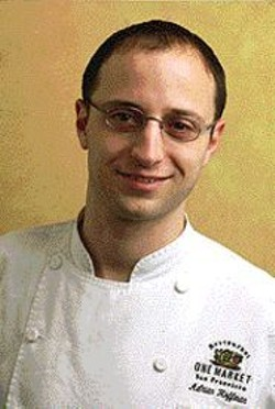 Don't talk, Adrian Hoffman! Just - cook for us!