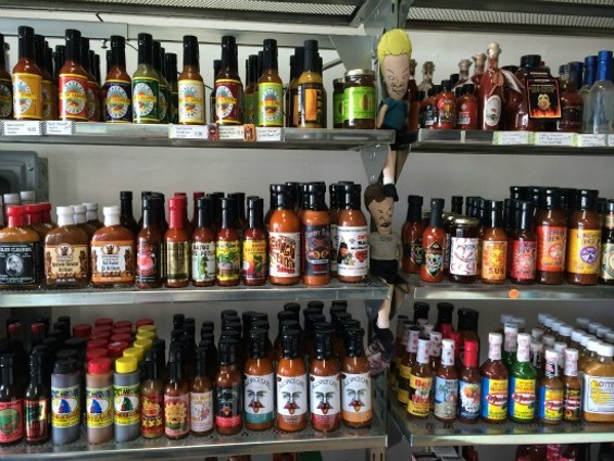Don't worry about Sriracha's having temporarily flatlined with this wall of substitutes at the ready. - PETE KANE