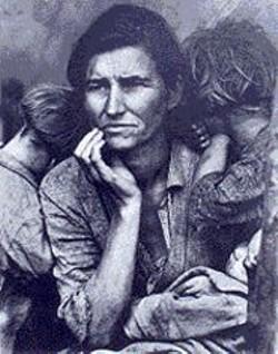 Dorothea Lange's Dust Bowl photos pack a - wallop.