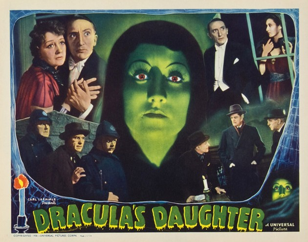 Dracula's daughter and dad kept it all in the family. - UNIVERSAL PICTURES