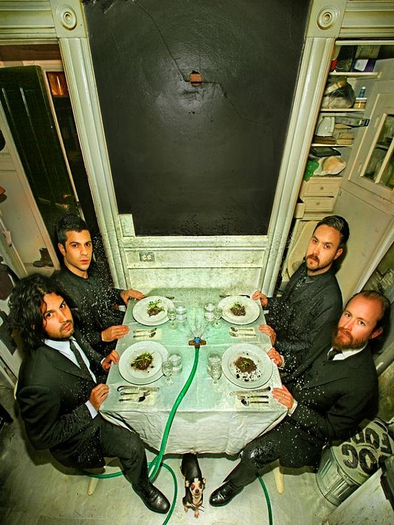 Dredg: Not talking much at dinner tonight.