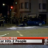 Driver Runs Over Pedestrian, Crashes Into Home During Police Pursuit