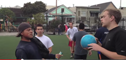 DropBox and Airbnb employees eject Mission youth in now-ubiquitous video.
