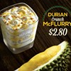 Durian McFlurries Are a Thing That Exists