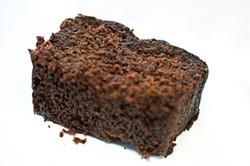 GIL RIEGO JR. - Earl Darny's blackstrap molasses gingerbread at Lotta's Bakery.