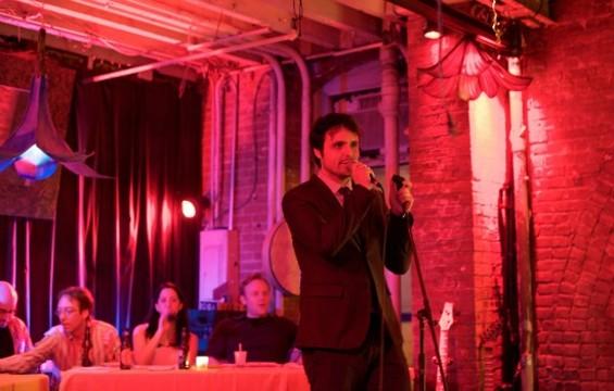 Eat My Heart Out director Eugene Ashton-Gonzalez at a 2012 event. - KATHLEEN MILLER