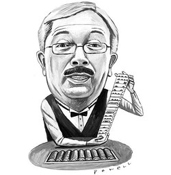 Ed Lee will shuffle the cards right in front of you. No tricks. - CHARLIE POWELL