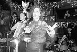 PAUL  TRAPANI - Edward Gorey house band Rosin Coven at the Edwardian Ball.