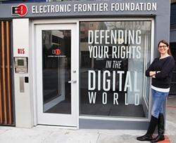 JUAN PARDO - EFF attorney Julie Samuels is leading a fight against restrictive 3D print patents.
