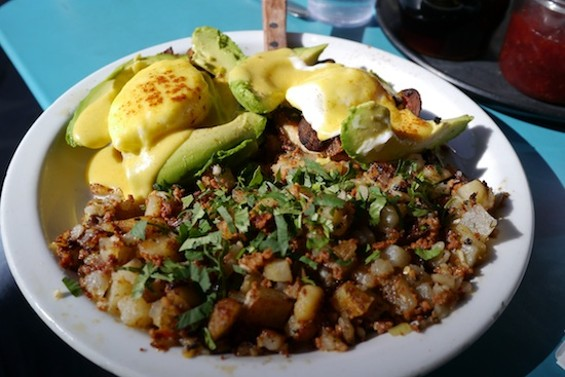 Eggs Barrio at Boogaloos