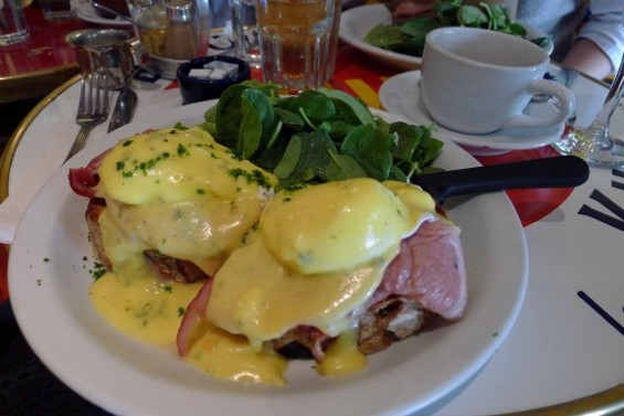 Eggs Benedict with Niman Ranch Ham
