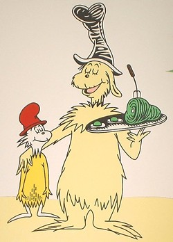 Eighteen bucks for green eggs and ham? You're ripping me off, Sam I Am! - DR. SEUSS
